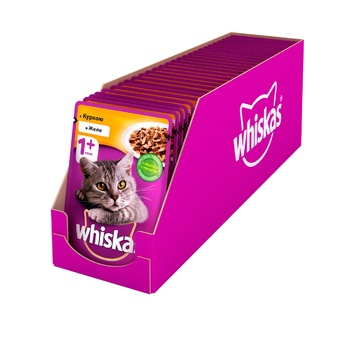 Whiskas With Chicken In Jelly For Adult Cats Food - buy, prices for Tavria V - image 6