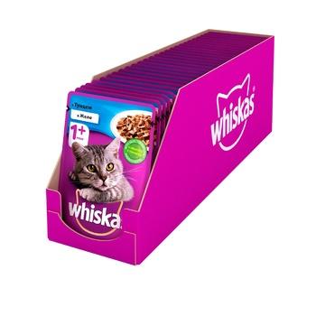 Корм для взрослых котов Whiskas с тунцом в желе 100г - купить, цены на Novus - фото 3
