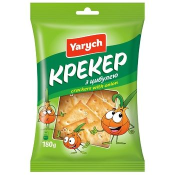 Yarych Crackers with Onion 180g