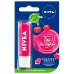 Nivea Cherry Shine Lip Balm 4.8g - buy, prices for Auchan - photo 1