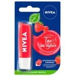 Nivea Strawberry Lips Balsam 4,8g