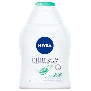 Гель для интимной гигиены Nivea Intimate Natural с экстрактом ромашки и молочной кислотой 250мл - купить, цены на МегаМаркет - фото 1