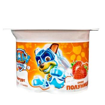 Йогурт Danone Клубника 2% 115г - купить, цены на Фуршет - фото 1