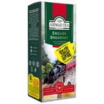Чай чорний пакетований Ахмад Англійський до сніданку 25х2г