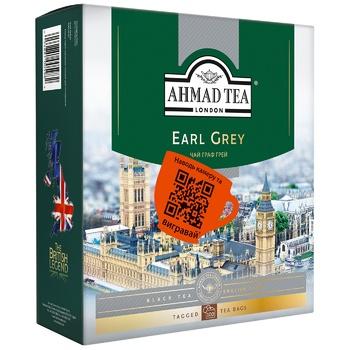 Ahmad Tea Earl Grey Black Tea in tea bags 100х2g - buy, prices for CityMarket - photo 1