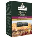 Чай чорний крупнолистовий з легким ароматом бергамоту Ахмад Королева Вікторія 180г