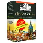 Чай Класичний чорний Ахмад 50г