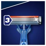 Бритва Gillette Blue3 Smooth одноразова 16шт - купити, ціни на Ашан - фото 3