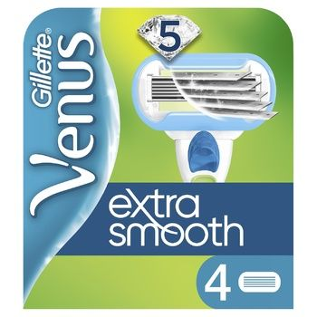 Картриджи для бритья Gillette Venus Embrace сменные 4шт - купить, цены на Метро - фото 1