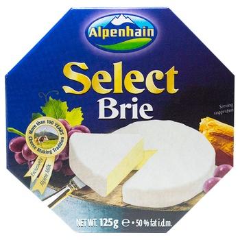 Сыр Альпенхайн бри мягкий с плесенью 50% 125г