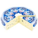 Сыр Bergader Bavaria Blu с белой и голубой плесенью 70%