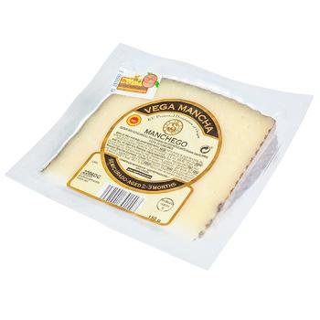 Vega Mancha Manchego 2-3 Months Ripening Cheese 55% 150g