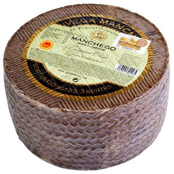 Vega Mancha Manchego Semi-hard Cheese 2-3 months 55%