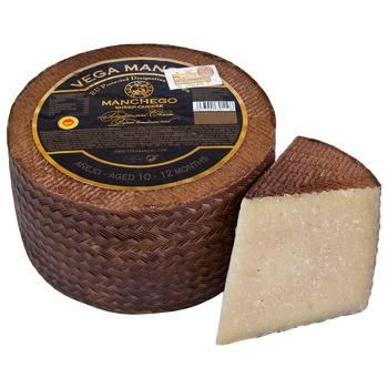 Сыр Vega Mancha Манчего 10-12 месяцев 55%