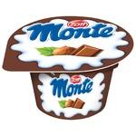 Десерт молочний Zott Monte Maxi з шоколадом та лісовими горіхами 13,3% 100г