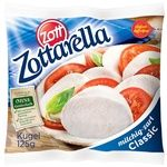 Сыр Моцарелла Zottarella 45% 125г Германия