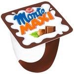 Десерт Zott Monte Maxi молочный с шоколадом и лесными орехами 13,3% 55г