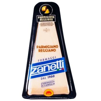 Сыр Zanetti Пармиджано Реджано твердый 32% 200г