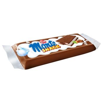 Тістечко Zott Monte Snack бісквітне з молоком, шоколадом та лісовим горіхом 29г