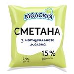 Molokiya Sour Cream 15% 370g