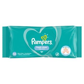Cерветки Pampers Fresh Clean 52шт - купити, ціни на CітіМаркет - фото 5