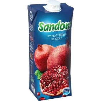 Нектар Sandora гранатовий 0,5л - купити, ціни на ЕКО Маркет - фото 1