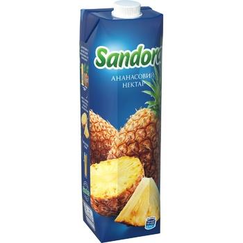 Нектар Sandora Ананас 950мл - купить, цены на Ашан - фото 1