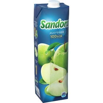 Сік Sandora яблучний 950мл - купити, ціни на Фуршет - фото 1