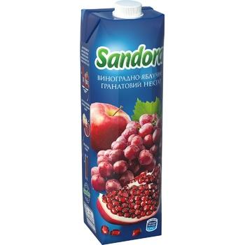 Нектар Sandora виноградно-яблочно-гранатовый 0,95л