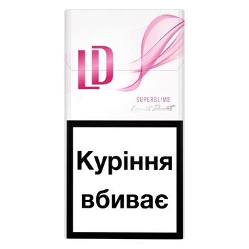 Сигареты LD Super Slims Pink - купить, цены на Метро - фото 1