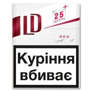 LD Red Cigarette