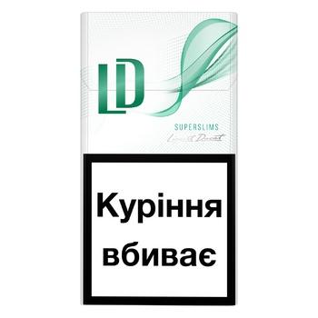 LD СИГАРЕТИ  SS MENTHOL