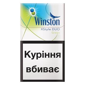 Сигареты Winston XStyle Green Duo
