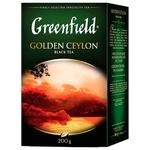 Чай черный Greenfield Golden Ceylon листовой 200г