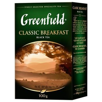 Greenfield Classic Breakfast Black Tea - buy, prices for Auchan - photo 3