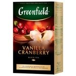 Greenfield Vanilla Cranberry Black Tea 100g