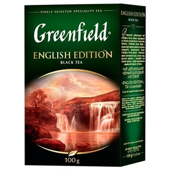 Greenfield English Edition 100g - buy, prices for Auchan - photo 1
