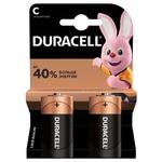 Duracell C Alkaline Batteries 2pcs