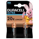 Батарейки Duracell Ultra Power AA щелочные 2шт