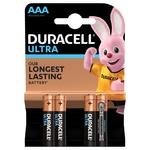 Duracell Ultra Power AAА Alkaline Batteries 4pcs