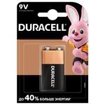 Батарейка Duracell 9V щелочная крона