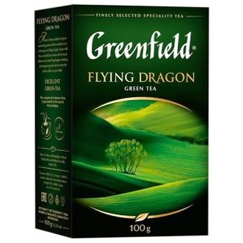 Чай Greenfield Flying Dragon 100г - купить, цены на Метро - фото 2
