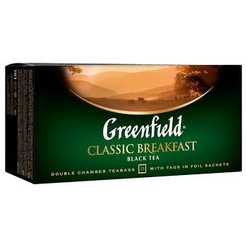Чай черный Greenfield Classic Breakfast 2г*25шт - купить, цены на Метро - фото 4