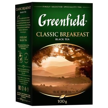 Greenfield Classic Breakfast Black Tea - buy, prices for Auchan - photo 4
