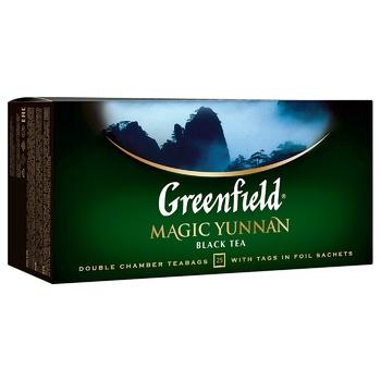 Greenfield Magic Yunnan Black Tea 25pcs 2g - buy, prices for Vostorg - photo 2