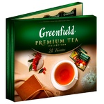 Набір чаю Greenfield Premium Tea Collection 24 види чаю у пакетиках 96*1,75г