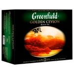 Greenfield Golden Ceylon 50 tea-bags - buy, prices for Auchan - photo 2