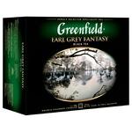 Чай Greenfield Earl Grey Fantasy 50пак - купить, цены на Ашан - фото 2