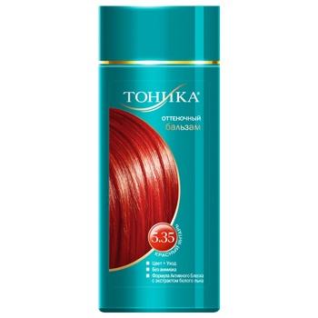 Краска для волос Тоника красный янтарь 150мл