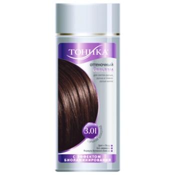Бальзам для волос Тоника оттеночный шоколад 150мл